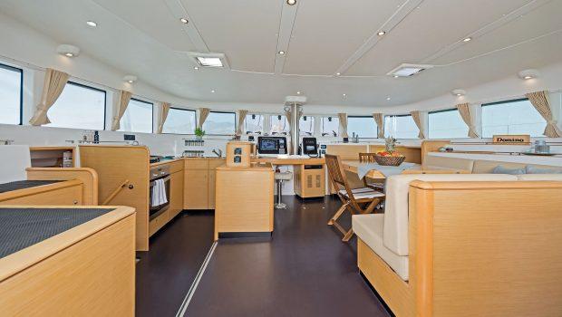 mystique catamaran  salon (1) min -  Valef Yachts Chartering - 1873