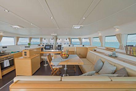 mystique catamaran  salon (2) min -  Valef Yachts Chartering - 1872