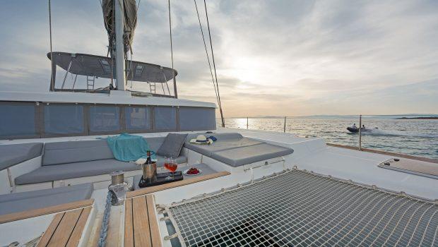 mystique catamaran  sun nets (1) min -  Valef Yachts Chartering - 1871
