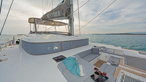 mystique catamaran  sun nets (2) min -  Valef Yachts Chartering - 1870