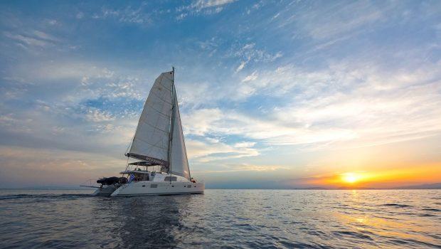 mystique catamaran  sunset (2) min -  Valef Yachts Chartering - 1868