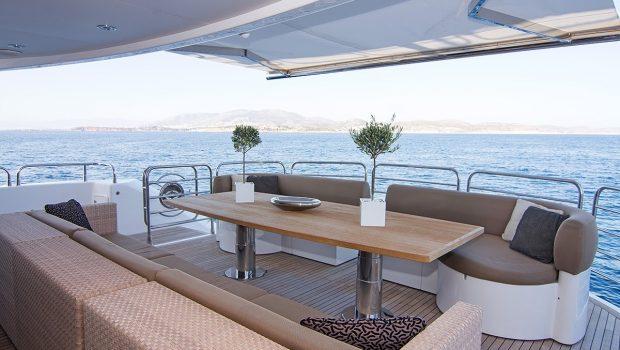 pathos mega yacht aft deck min -  Valef Yachts Chartering - 2518
