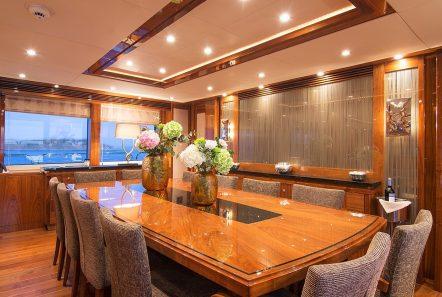 pathos mega yacht dining min -  Valef Yachts Chartering - 2514