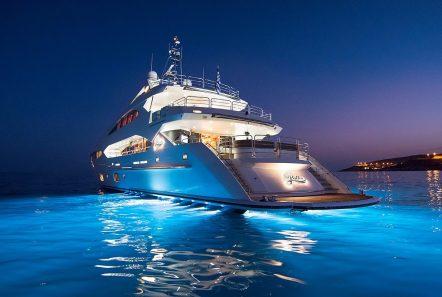 pathos mega yacht night min -  Valef Yachts Chartering - 2532