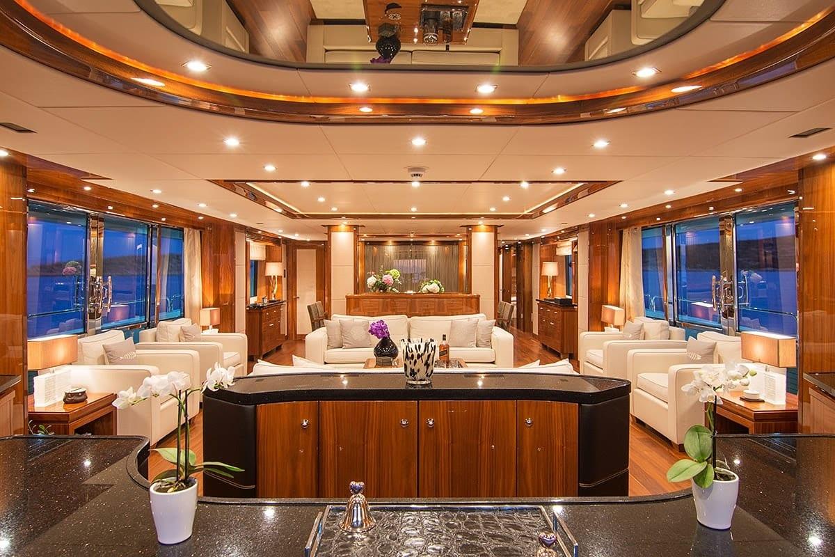 pathos mega yacht salon main min -  Valef Yachts Chartering - 2526