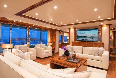 pathos mega yacht salon view min -  Valef Yachts Chartering - 2525