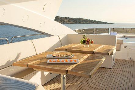 pathos mega yacht sundeck (1) min -  Valef Yachts Chartering - 2524