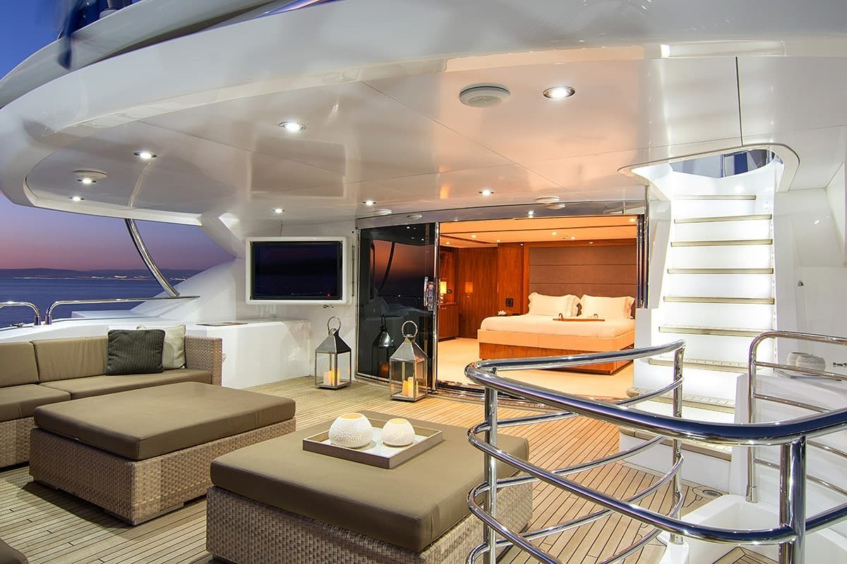 pathos mega yacht upper balcony min -  Valef Yachts Chartering - 2522