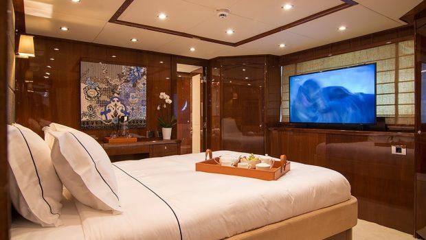 pathos mega yacht vip suite min -  Valef Yachts Chartering - 2520