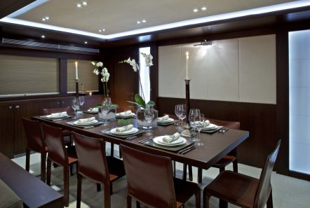 sanjana motor yacht dining -  Valef Yachts Chartering - 1718