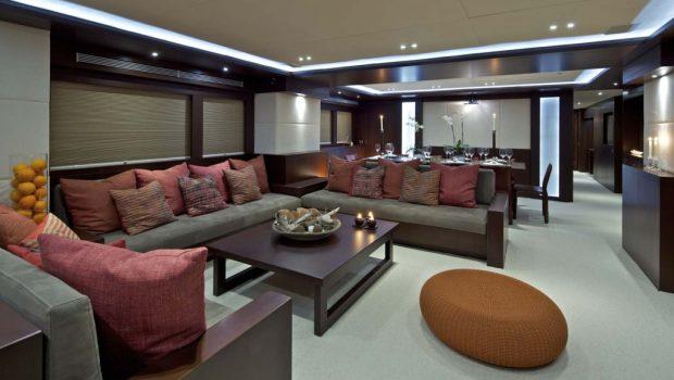 sanjana motor yacht salon -  Valef Yachts Chartering - 1729