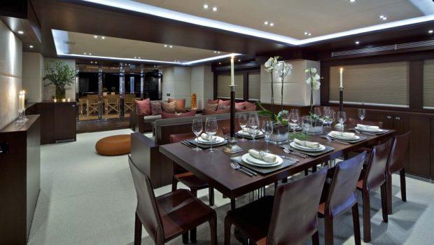 sanjana motor yacht salon2 -  Valef Yachts Chartering - 1728