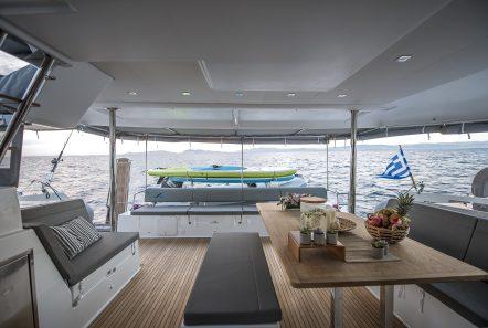 sea energy v catamaran aft deck (4) -  Valef Yachts Chartering - 2091