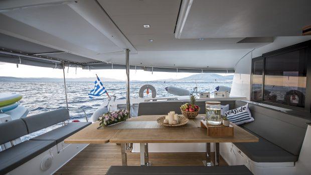 sea energy v catamaran aft deck (5) -  Valef Yachts Chartering - 2090