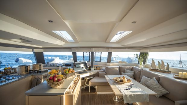 sea energy v catamaran salon (1) -  Valef Yachts Chartering - 2098