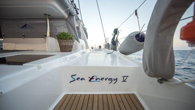 sea energy v catamaran stairs -  Valef Yachts Chartering - 2089