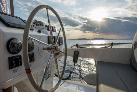 sea energy v catamaran wheel -  Valef Yachts Chartering - 2097