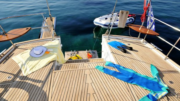 sea star sailing yacht deck -  Valef Yachts Chartering - 1900
