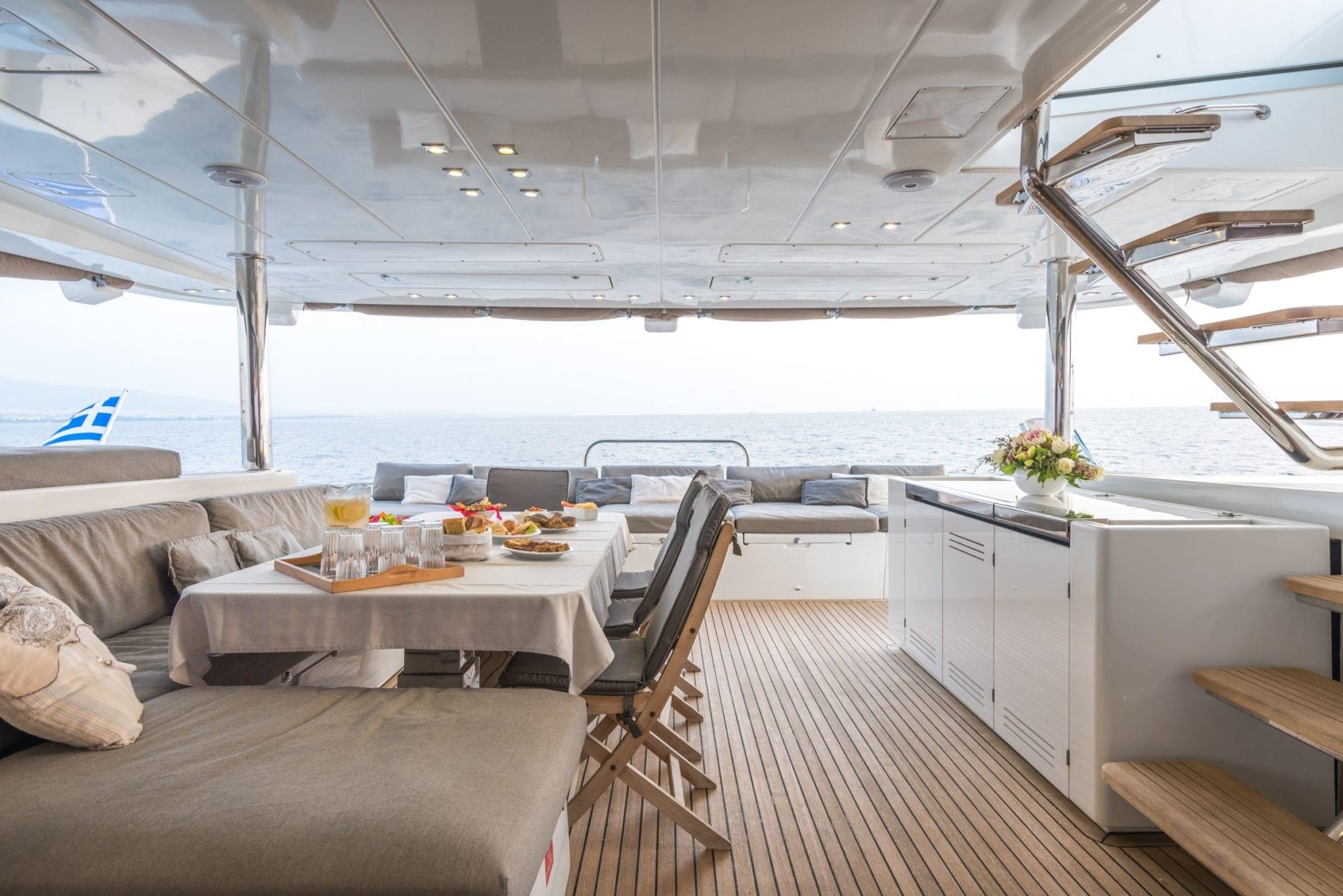 selene catamaran cockpit (9) -  Valef Yachts Chartering - 1965