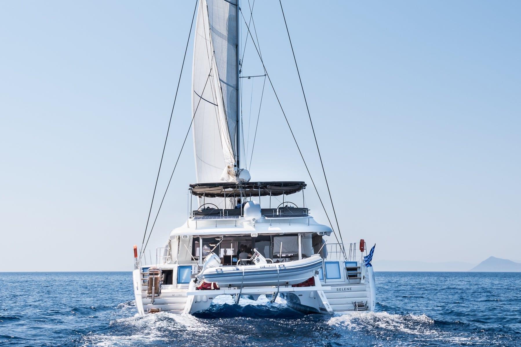 selene catamaran profile (2) -  Valef Yachts Chartering - 1946