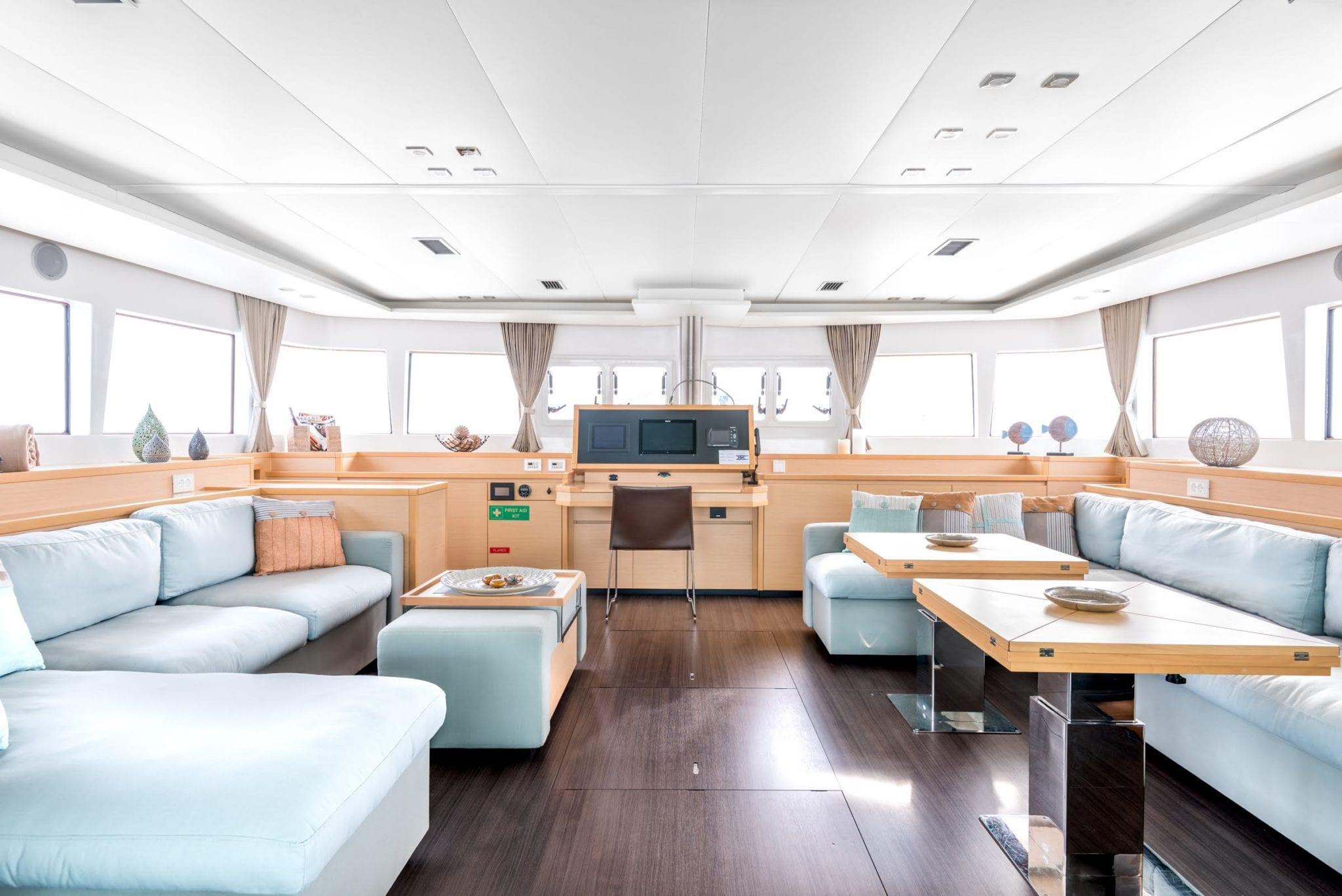 selene catamaran salon (1) -  Valef Yachts Chartering - 1954