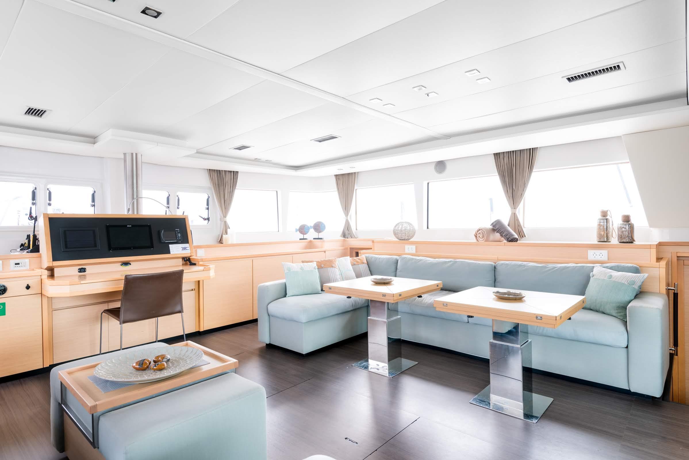 selene catamaran salon (2) -  Valef Yachts Chartering - 1953