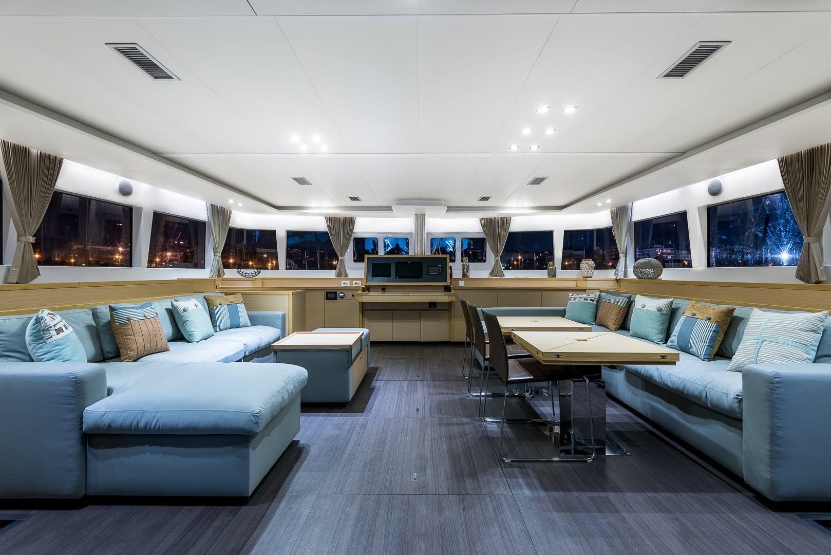 selene catamaran salon1 -  Valef Yachts Chartering - 1948