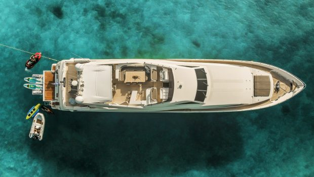 tacos of the sea motor yacht aerial -  Valef Yachts Chartering - 1993