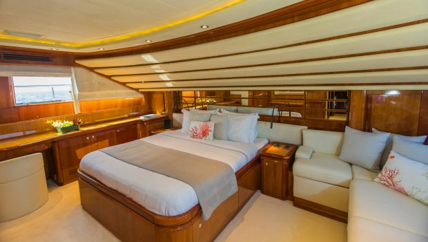 tacos of the sea motor yacht main deck cabin -  Valef Yachts Chartering - 1985