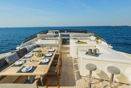 tacos of the sea motor yacht  sun deck (1) -  Valef Yachts Chartering - 1988