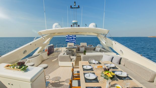 tacos of the sea motor yacht  sun deck (2) -  Valef Yachts Chartering - 1990