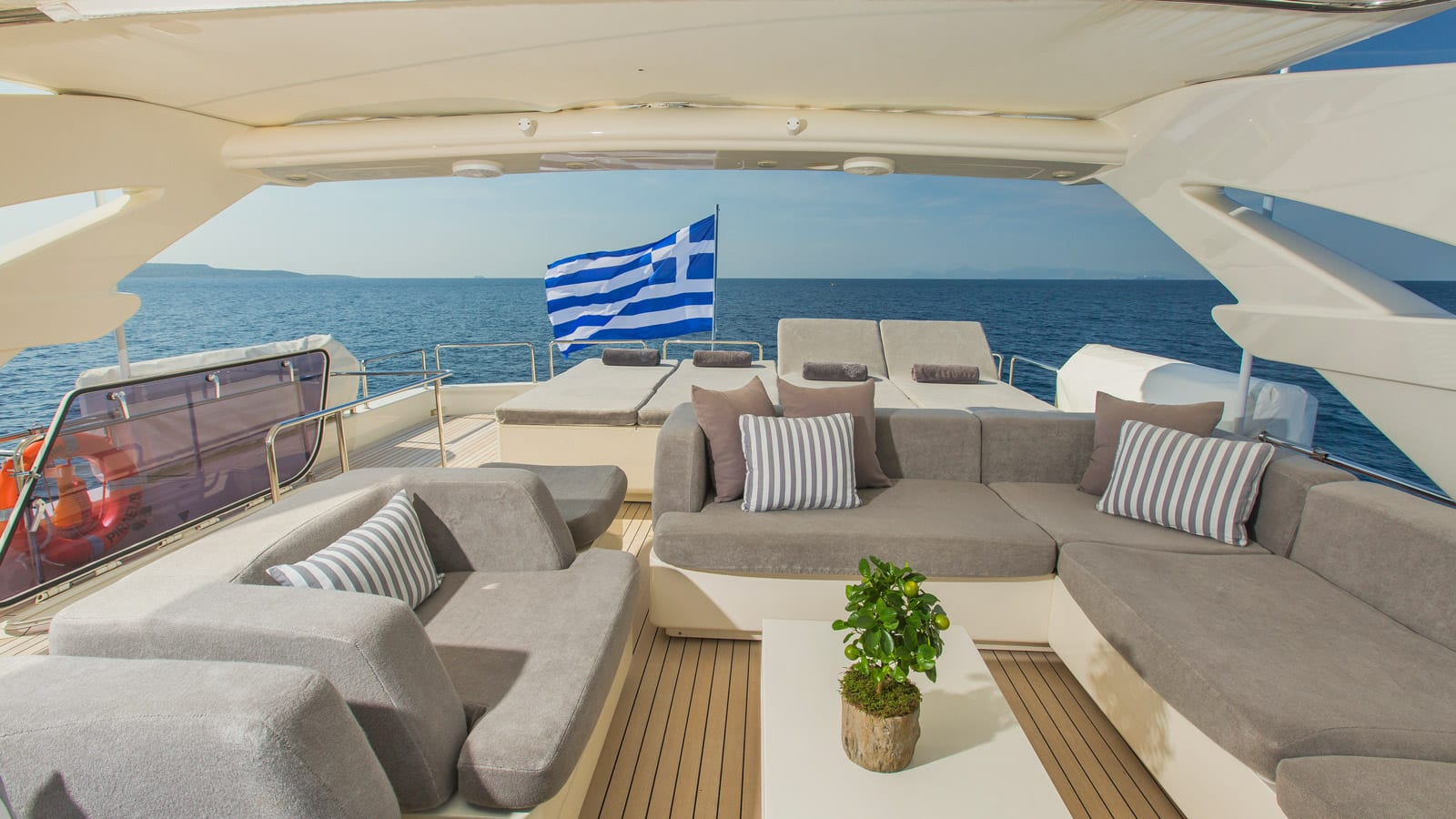 tacos of the sea motor yacht  sun deck (3) -  Valef Yachts Chartering - 1989