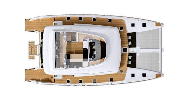 valium 62 catamaran layout (1) -  Valef Yachts Chartering - 1936