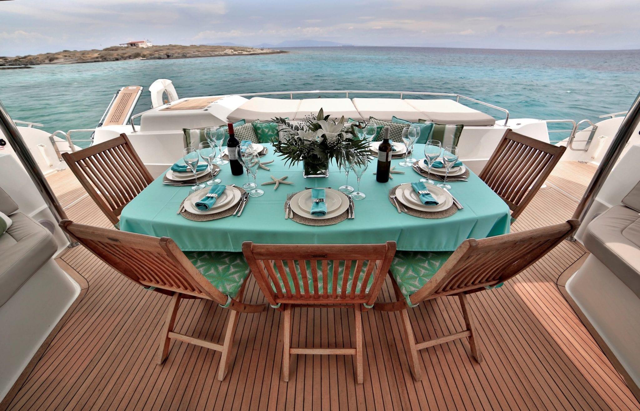 worlds end catamaran aft deck (3) min -  Valef Yachts Chartering - 2140