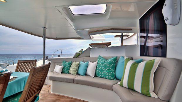 worlds end catamaran aft deck (5) min -  Valef Yachts Chartering - 2138