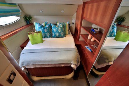 worlds end catamaran cabins and bath (2) min -  Valef Yachts Chartering - 2134