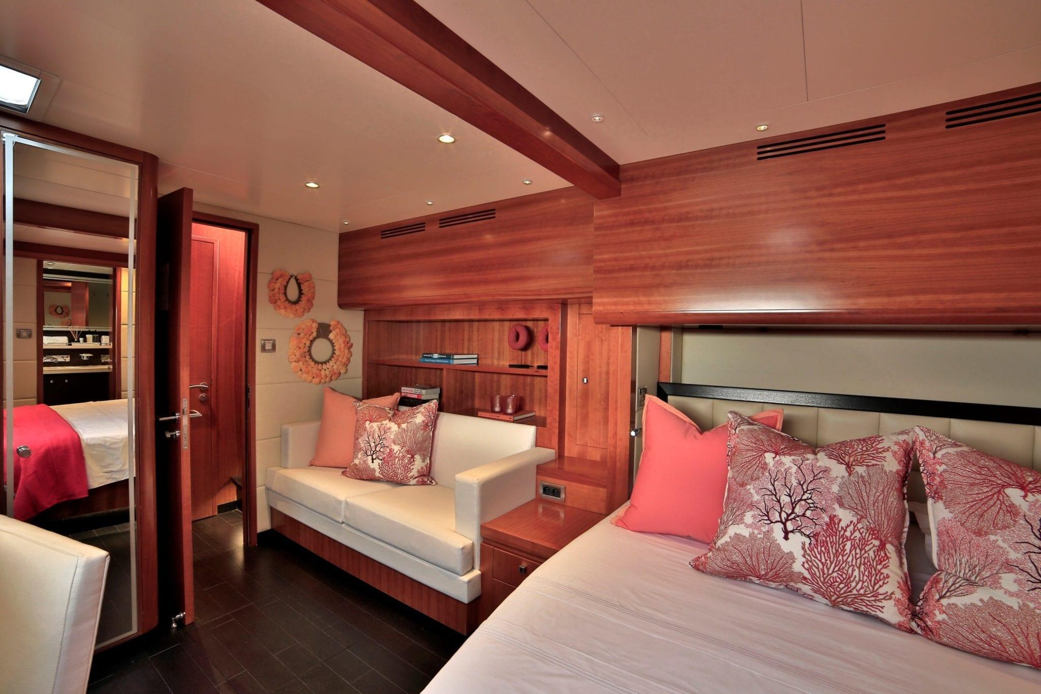 worlds end catamaran cabins and bath (7) min -  Valef Yachts Chartering - 2129