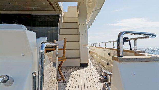 alfea motor yacht aft deck (5) min -  Valef Yachts Chartering - 1419