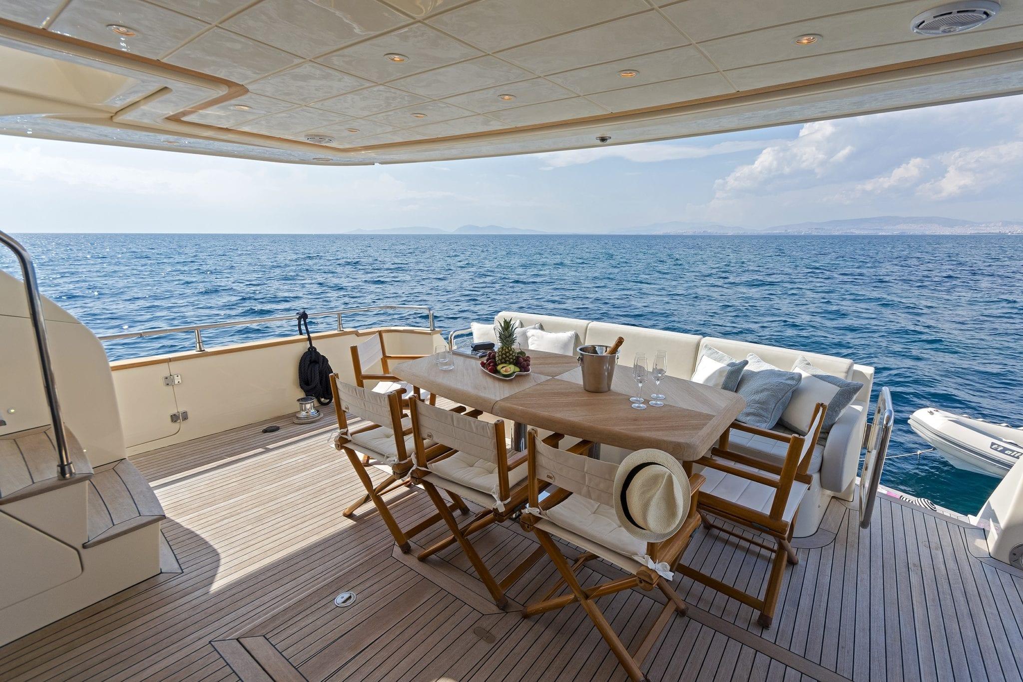 alfea motor yacht aft deck (6) min -  Valef Yachts Chartering - 1418