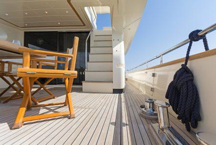 alfea motor yacht aft deck (7) min -  Valef Yachts Chartering - 1417