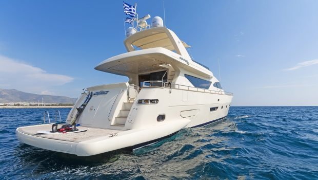 alfea motor yacht moored (1) min -  Valef Yachts Chartering - 1398