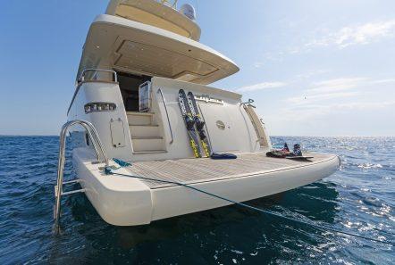 alfea motor yacht moored (3) min -  Valef Yachts Chartering - 1396