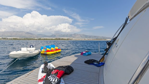 alfea motor yacht sea toys swim platform (4) min -  Valef Yachts Chartering - 1391
