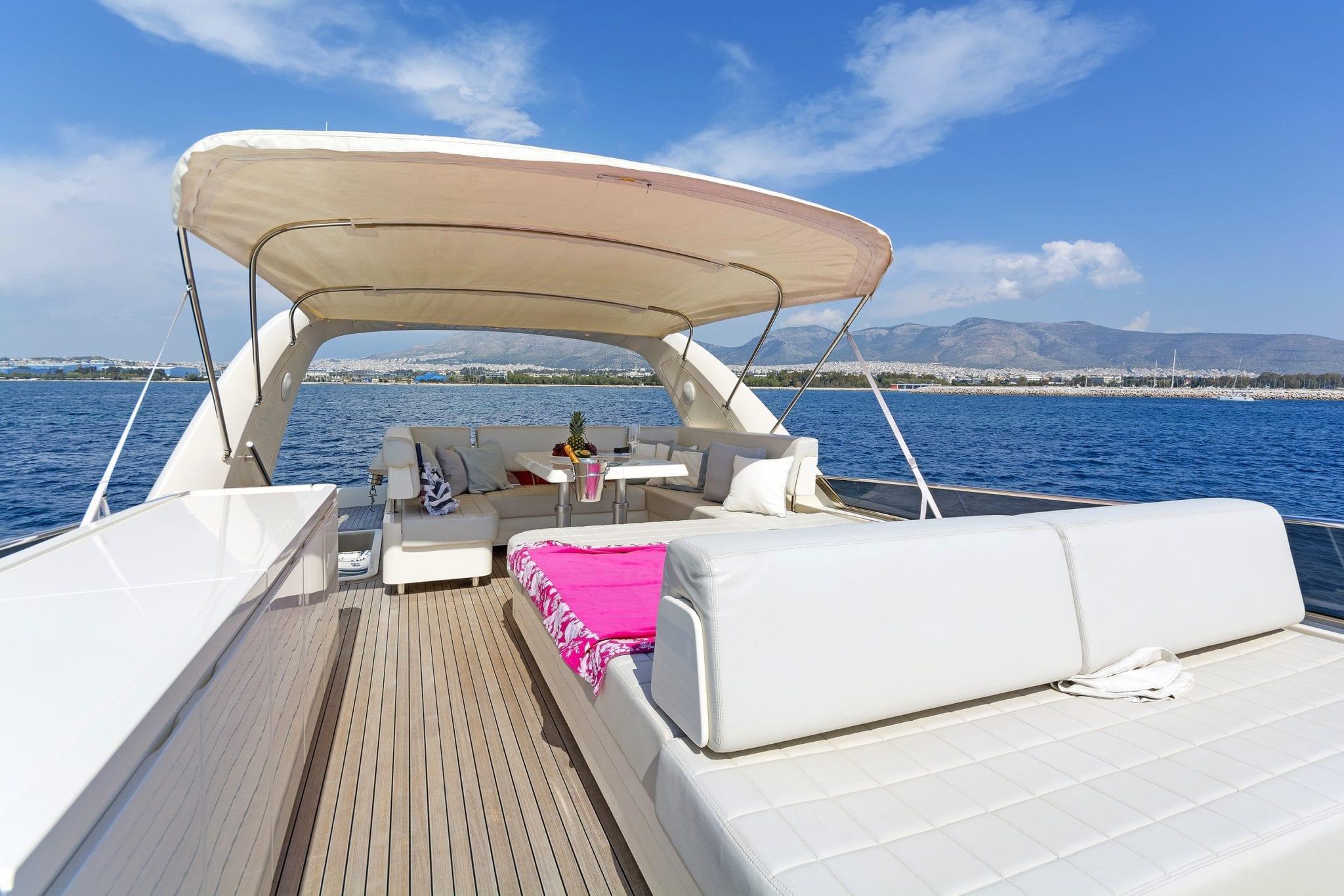 alfea motor yacht sundeck (2) min -  Valef Yachts Chartering - 1388