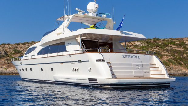 efmaria motor yacht exteriorsjpg (2) -  Valef Yachts Chartering - 1499