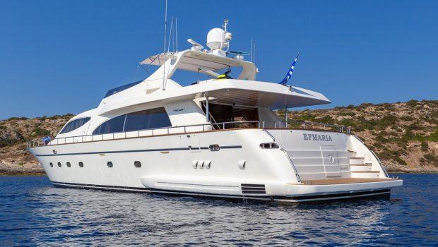 efmaria motor yacht exteriorsjpg (3) -  Valef Yachts Chartering - 1498