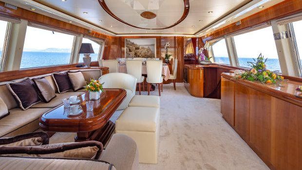 efmaria motor yacht salon (3) -  Valef Yachts Chartering - 1527