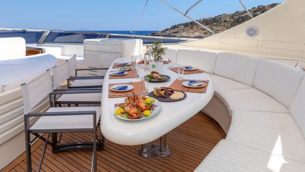 efmaria motor yacht sundeck (3) min -  Valef Yachts Chartering - 1518