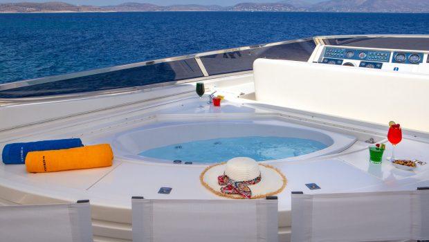 efmaria motor yacht sundeck (5) min -  Valef Yachts Chartering - 1516