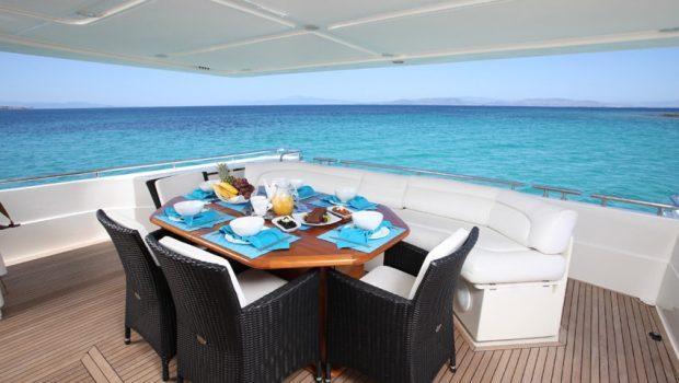 kentavros ii motor yacht aft deck min -  Valef Yachts Chartering - 1564